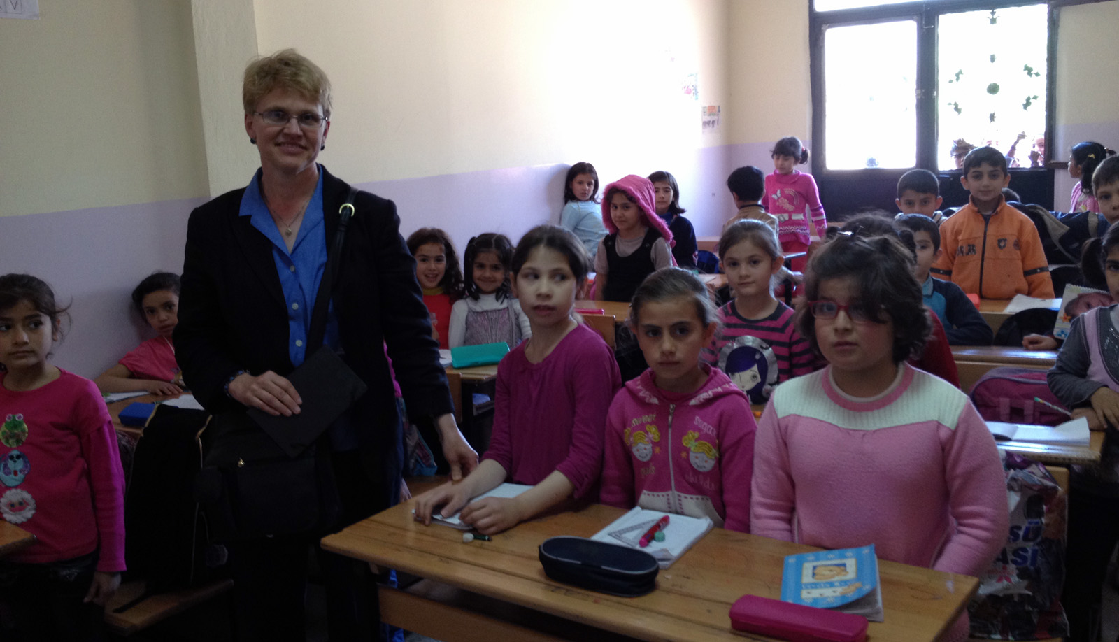 Syrian Refugee School in southern Turkey